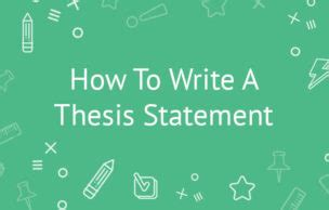 How to Write a Thesis for a Research Paper Students Best